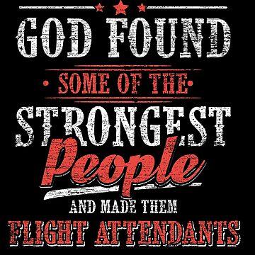 Flight attendant God by GeschenkIdee