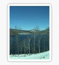 Snow Covered Appalachian Trail Sticker