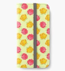 Yellow and Pink Roses iPhone Wallet/Case/Skin