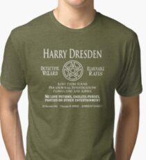 Harry Dresden - Wizard Detective Tri-blend T-Shirt