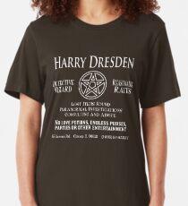 Harry Dresden - Wizard Detective Slim Fit T-Shirt