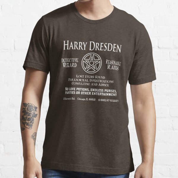 Harry Dresden - Wizard Detective Essential T-Shirt
