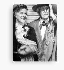 Frank Lloyd Wright @ www.KeithMcDowellArtist.com  Canvas Print