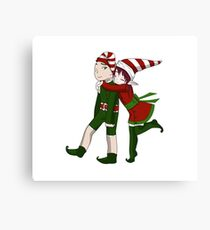 Elf Cuddlez Canvas Print