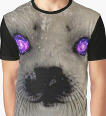 Seal Sees All Graphic T-Shirt