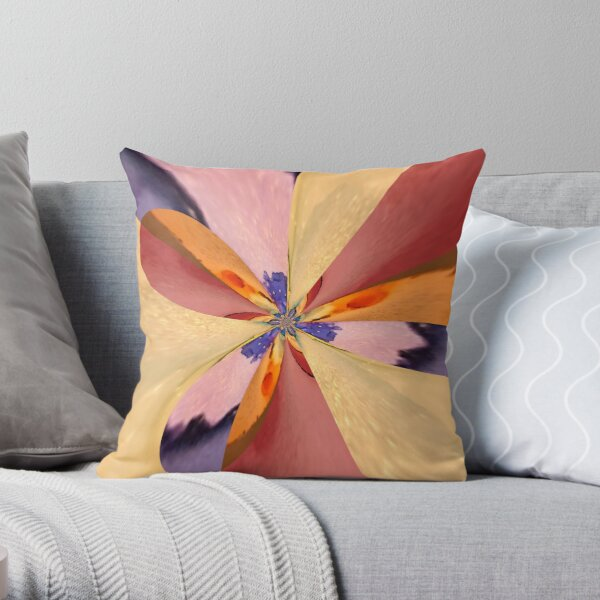 Agreeable Insistence Throw Pillow