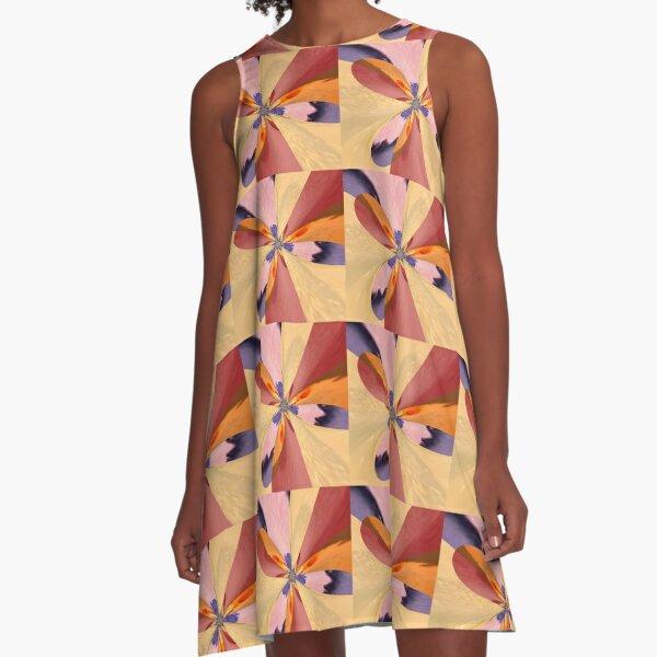 Agreeable Insistence A-Line Dress