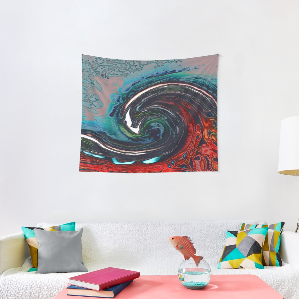 Wave 9 Tapestry