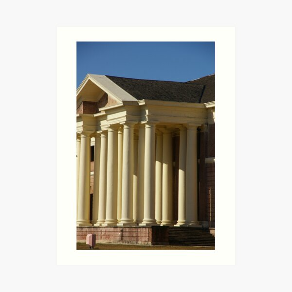 So These Are The Pillars Of Society? Art Print