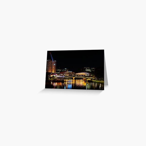 Riverbank Precinct, Adelaide Greeting Card