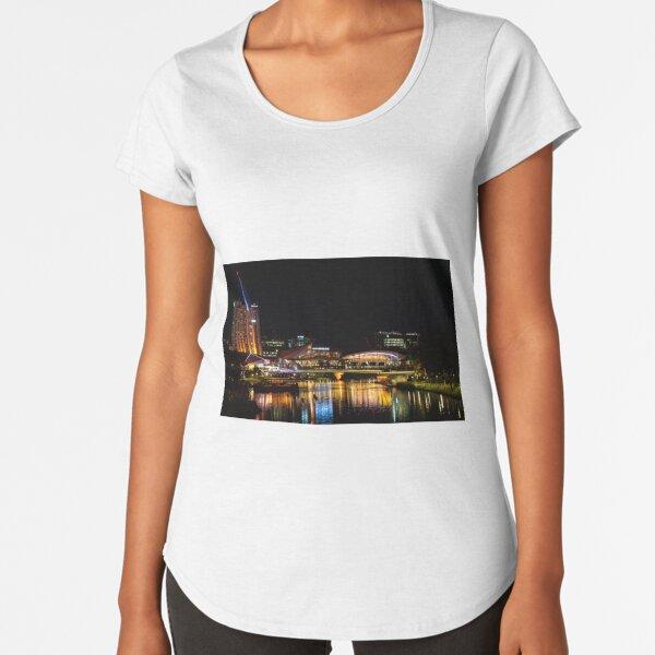 Riverbank Precinct, Adelaide Premium Scoop T-Shirt