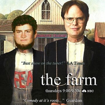 The office beets farms Dwight  schrute  by VinyLab