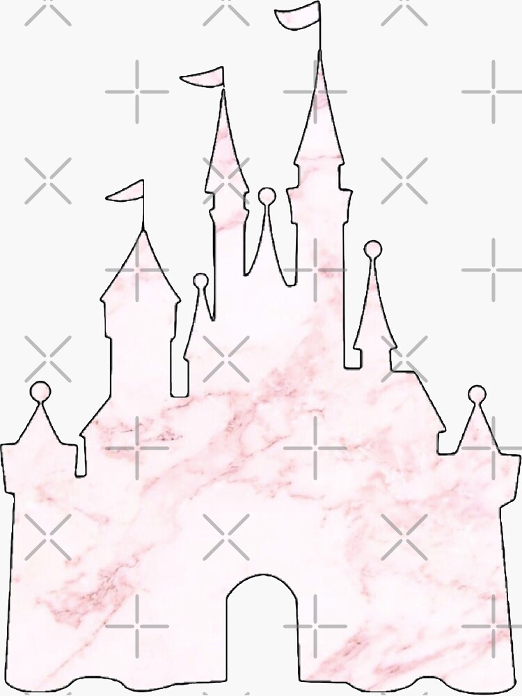 Pink Marble Castle by cortbart