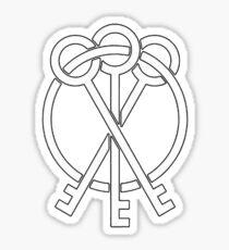 nf logo Sticker