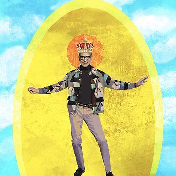 Holy Jeff Goldblum by Caffrin25