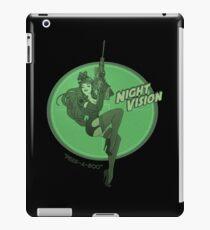 Night Vision Pin Up iPad Case/Skin