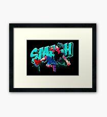 Smash Deku - My Hero Academia Framed Print