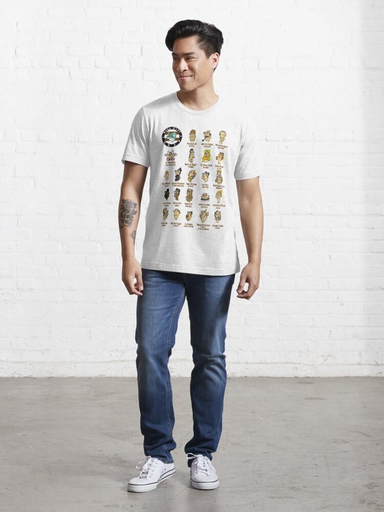 Alternate view of Mull City F.C. Squad Essential T-Shirt