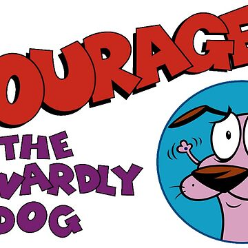 Courage The Cowardly Dog by Bangercat