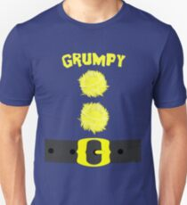 Grumpy Snow White 7 Dwarfs Bashful Sneezy Dopey Sleepy Happy Doc Unisex T-Shirt