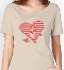 Valentine Pin Up Women's Relaxed Fit T-Shirt