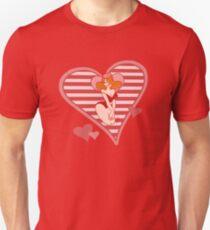 Valentine Pin Up Unisex T-Shirt