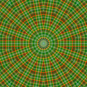 Mandala Green Red Yellow and White by MarkUK97