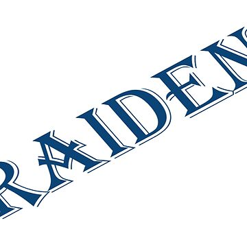 My name is Raiden Too by Hillse