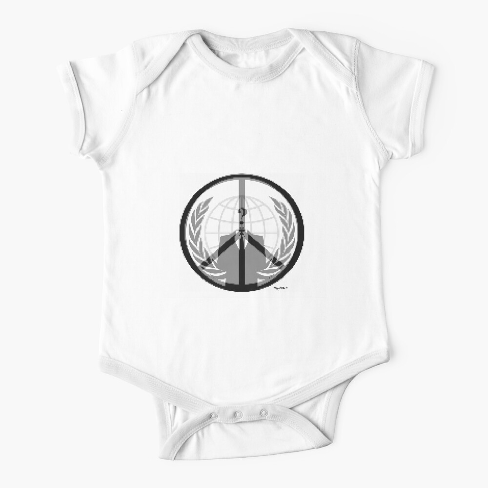 A PPP (tribute to Anonymous - the singularity project) Baby One-Piece
