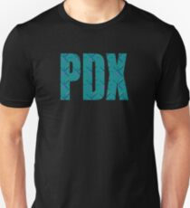PDX Portland Airport Carpet Oregon Unisex T-Shirt