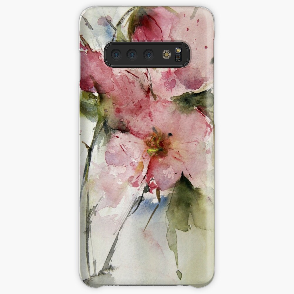 watercolor flowers from Arcen Case & Skin for Samsung Galaxy