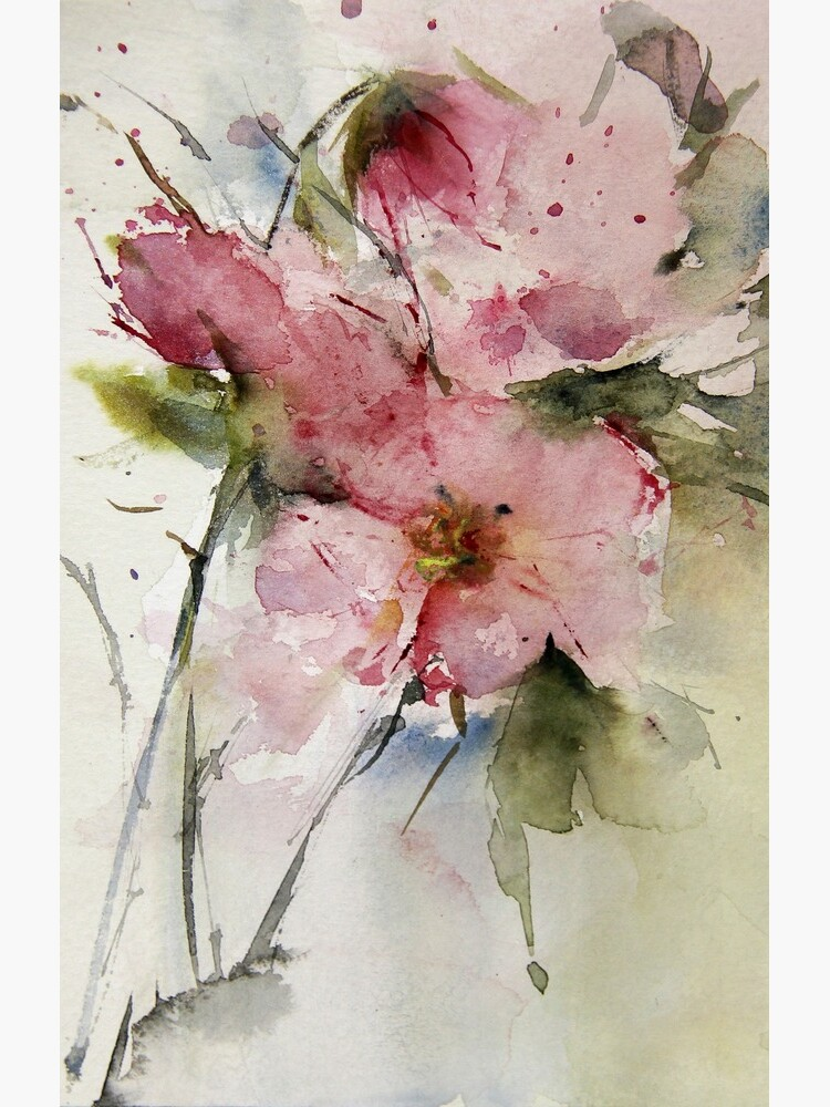 watercolor flowers from Arcen by welallmwel