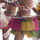 Young female dancers, Kitava Island, Trobriand Islands by Traveldreams