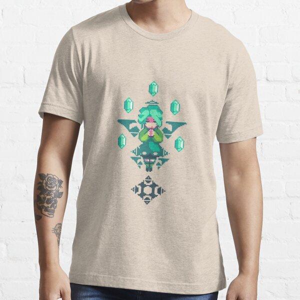 Emerald Priest Pixel Art Essential T-Shirt