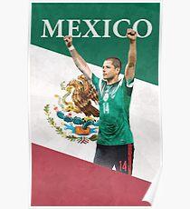Chicharito Poster - Javier Hernandez Mexico Poster