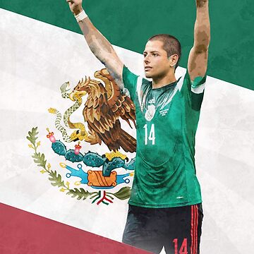 Chicharito Poster - Javier Hernandez Mexico by NIKOisCREATING