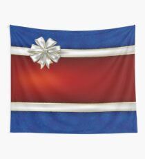 Red and Blue Wall Tapestry