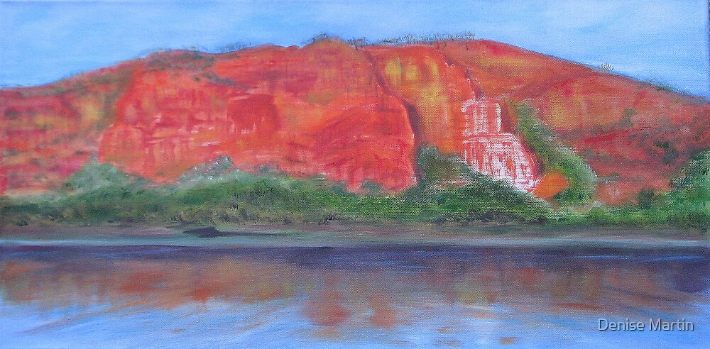 Kimberleys - Hunter Gorge by Denise Martin
