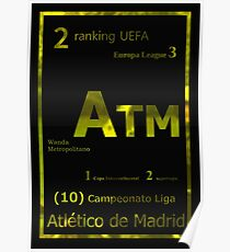 Gold ATM Poster