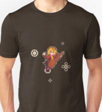 Pixel Art Guitar Girl Slim Fit T-Shirt