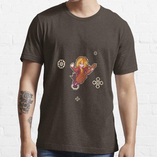 Pixel Art Guitar Girl Essential T-Shirt