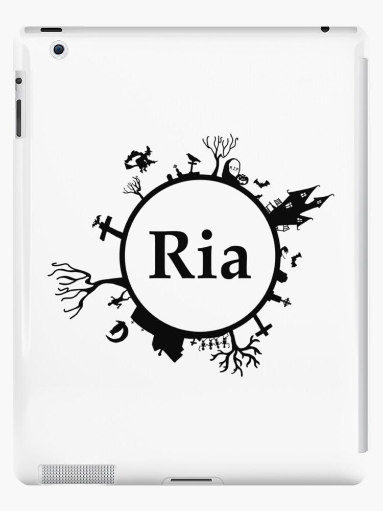 Halloween Name Ria by PM-Names