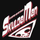 DE KAPITEIN VAN HET SPOOK - SKULDA MAN Logo #2 by tnperkins