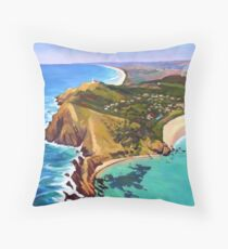 Byron Bay Throw Pillow