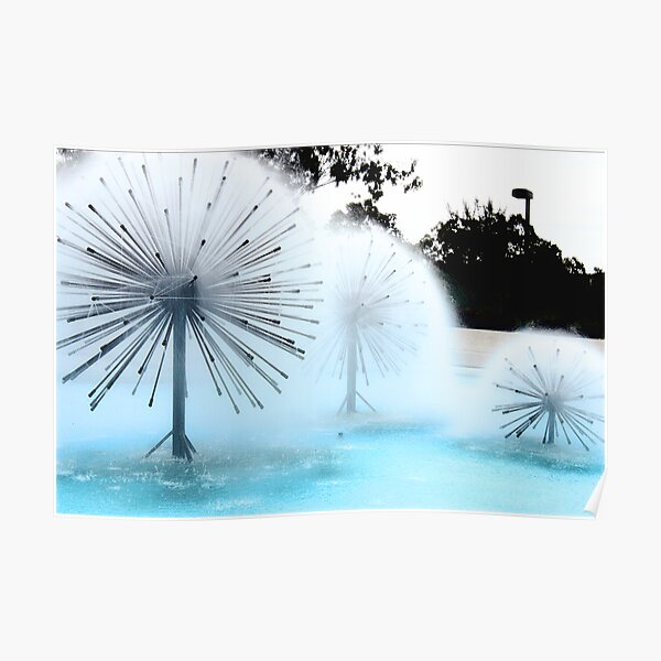 Dandylion Fountains Poster