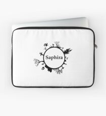Halloween name sapphire Laptop Sleeve