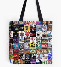 Musicals Collage Leggings Tote Bag