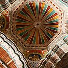 Decorated Dome, Beautiful Indian Palace Architecture by Jane McDougall
