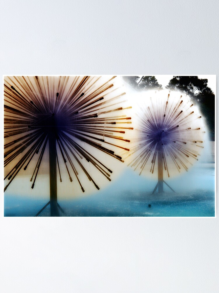 Alternate view of Dandylion Fountains Poster