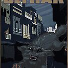 """H.P. Lovecraft Travel Poster: Ulthar (""""The Cats of Ulthar"""") by futurilla"""